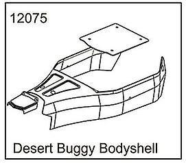Desert Buggy Body Shell