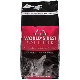 Verdens bedste flere kattegrus sammenklumpning formel 3,18 kg
