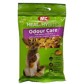 M & c små dyr behandling-ums lugt-pleje 30g (pakke med 12)