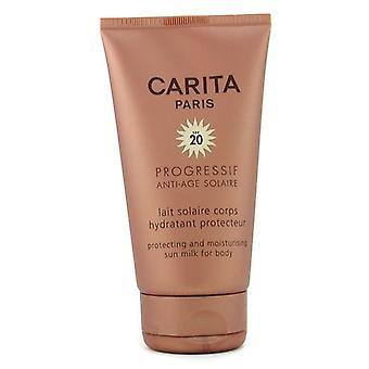 Carita Progressif Protecting and Moisturizing Sun Milk for Body SPF 20 150ml/5oz