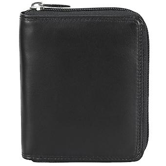Bodenschatz Kings nappa leather zip wallet RFID protection