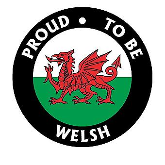 Proud To Be Welsh Car Air Freshener