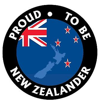Proud To Be New Zealander Car Air Freshener