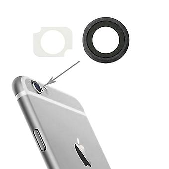 Camera glass for Apple iPhone 6 plus 5.5 camera lens camera glass + frame grey