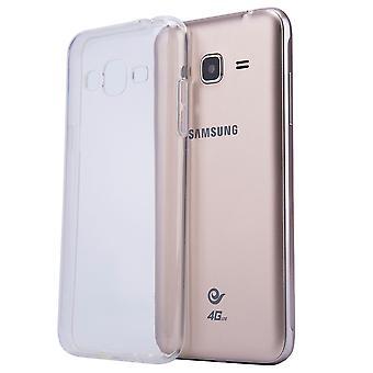 Clear Gel case + stylus for Samsung Galaxy J5 (2016) SM-J510 - Clear