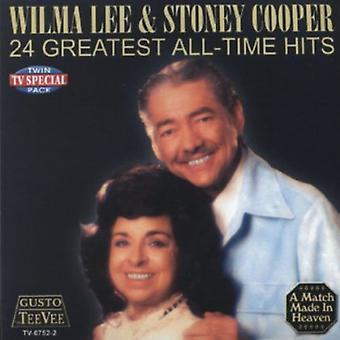 Lee/Cooper - 24 største All-Time Hits [CD] USA import