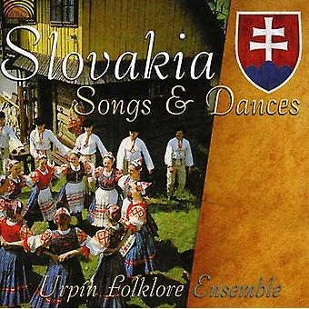 Urpin Folklore Ensemble - Slovakien låtar & danser [CD] USA import