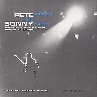Seeger/Terry - Pete Seeger & Sonny Terry på Carnegie Hall [CD] USA import