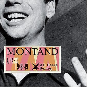 Yves Montand - Paris 1948-49 [CD] USA import