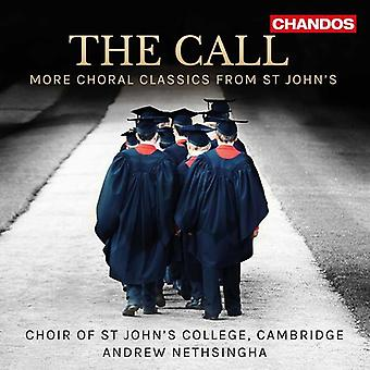 Choir of st John's / Choir of st John's College - The Call - More Choral Classics [CD] USA import