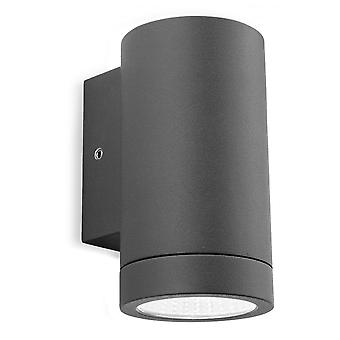 FIRSTLIGHT moderne Graphit LED Videowand Downlight
