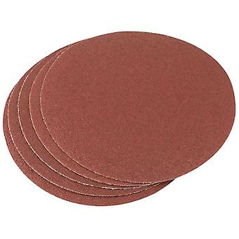 Draper 23354-5 x 200mm 60 Grit Hook & Eye Backed Aluminium Oxide