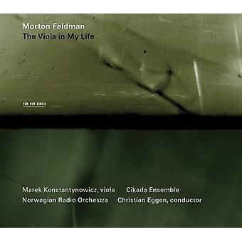 M. Feldman - Morton Feldman: The Viola in My Life [CD] USA import