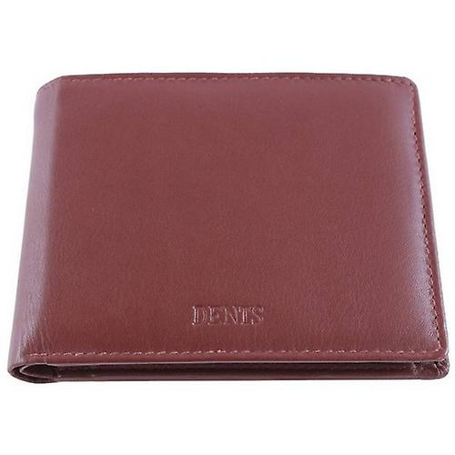 Dents Leather Billfold Wallet - English Tan