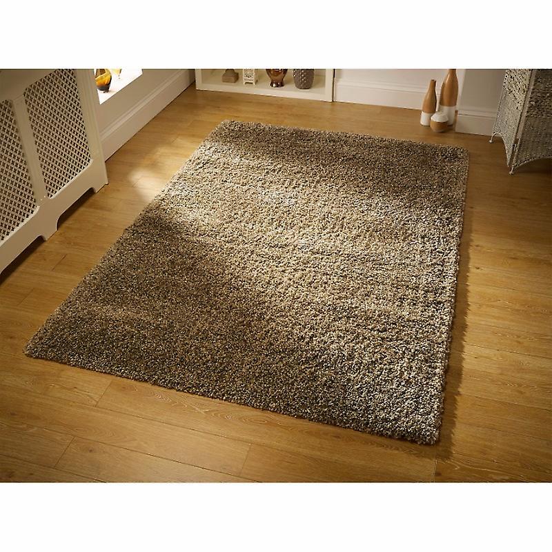 Harmonie Beige Beige Rechteck Teppiche Plain/fast schlicht Teppiche
