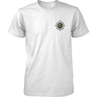 Licensed MOD - British Army Scots Guards Insignia - Mens Chest Design T-Shirt