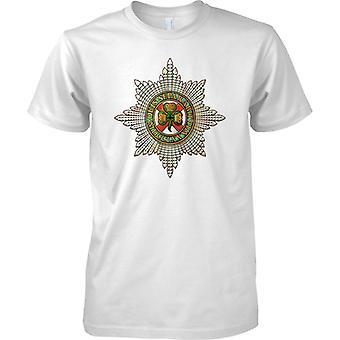 Licensed MOD -  British Army irish Guards Insignia - Mens T Shirt