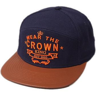 King Apparel Wear The Crown 6 Panel Hybrid Cap