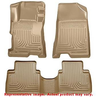 Tan Husky Liners # 98403 WeatherBeater Front & 2nd Seat  FITS:HONDA 2008 - 2012