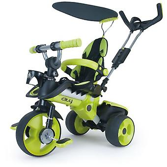 Injusa Tricycle City Green (Outdoor , On Wheels , Bikes And Tricycles)