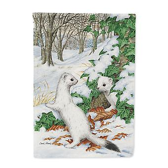 Stoats Short-tailed Weasel Flag Canvas House Size