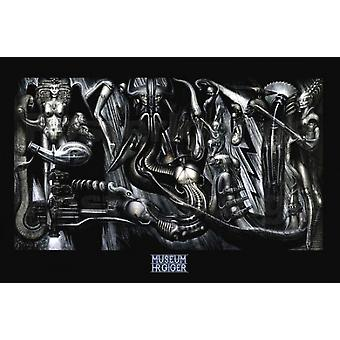 Anima Mia Work No 487 198081 Poster Print by HR Giger (36 x 24)
