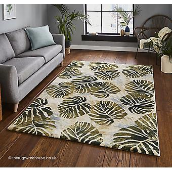 Tasmania Cream Green Rug