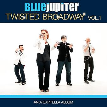 Blå Jupiter - snoet Broadway Vol. 1 (en en Cappella Album) [CD] USA import