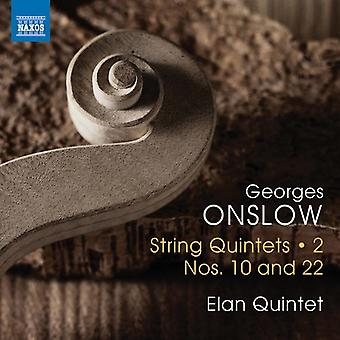 Onslow - kwintety ciąg [CD] USA import