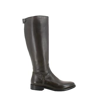 Longhi women's 8037833 brown leather boots * damaged box *.