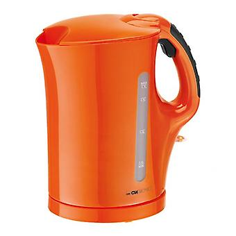 CLATRONIC Wasserkocher 1,7 Liter WK 3445 Orange