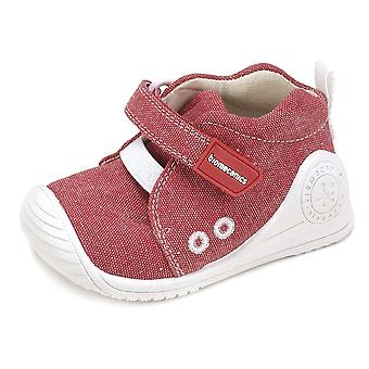 Zapatos de lona Postítulo muchachos 182121 rojo