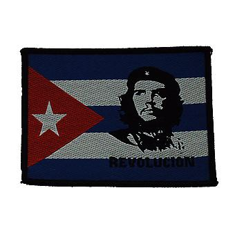 Che Guevara Revolution gewebten Patch