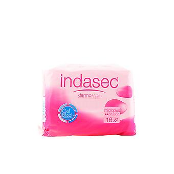 Indasec Dermoseda Compresa Incontinencia Micro Plus 16 Units Womens New
