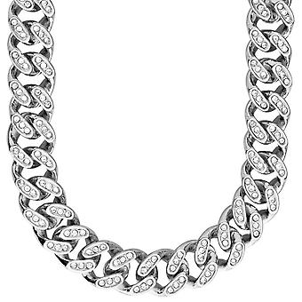 Iced out bling hip hop chain - cubic ZIRCONIA 15 mm