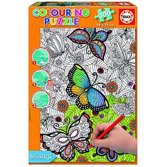 Educa Mandala coloring puzzle 300 pieces all Good 34 x 48 cm