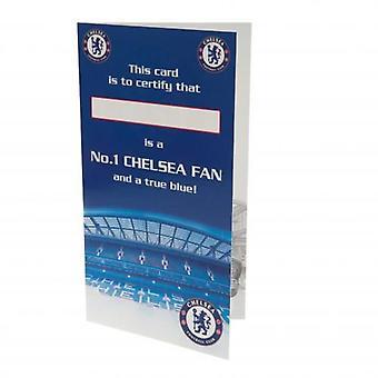 Chelsea Birthday Card nr 1 Fan