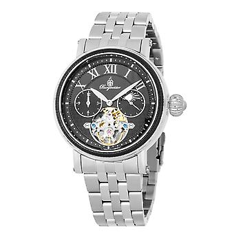 Burgmeister BM344-121 Lakewood, Gents automatic watch, Analogue display - Water resistant, Stylish stainless steel bracelet, Classic men's watch