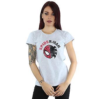 Marvel Women's Spider-Man Classic Split T-Shirt