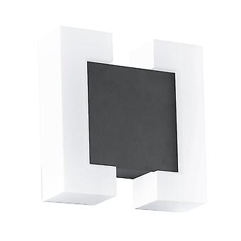 Eglo Sitia IP44 LED Outdoor Wall Light In Anthracite