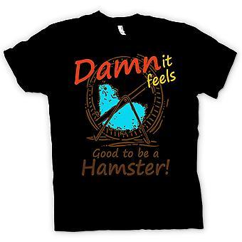 Kinder T-shirt - es fühlt sich verdammt gut, ein Hamster sein