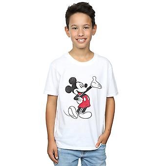 Disney Boys Mickey Mouse Traditional Wave T-Shirt