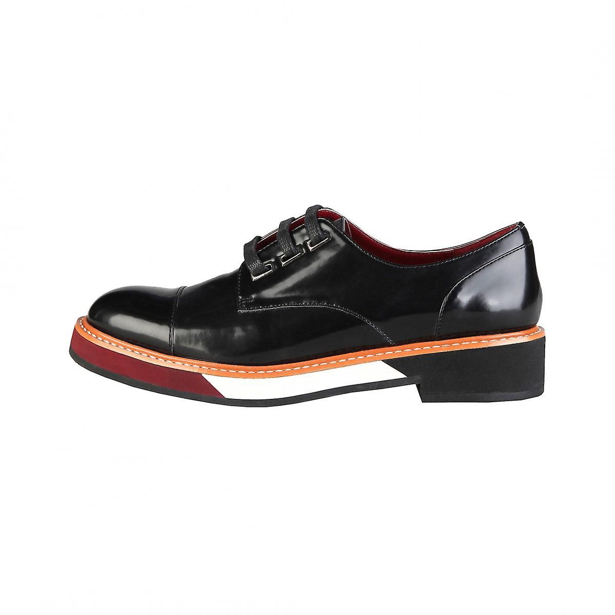 Ana Lublin chaussures stringate noir CATHARINA  Autunno Inverno
