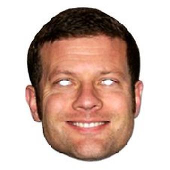 Dermot O'Leary ansigtsmaske