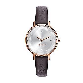 Esprit Damen Uhr Armbanduhr TP10931 Rosé Leder ES109312003
