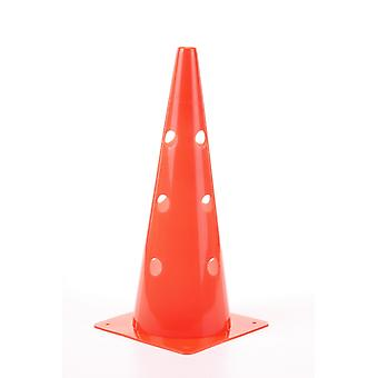 Mark cone / cones with holes for barrier rods
