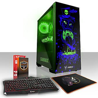Feroce GOBBLER Gaming PC, veloce processore Intel Core i5 7400 3,5 GHz, 2 TB HDD, 16 GB di RAM, GTX 1050 2 GB