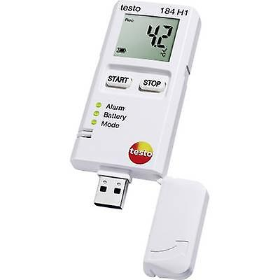 Testo 184 H1 Multi-channel data logger Unit of measureHommest Temperature, Humidity -20 up to +70 °C 0 up to 100 % RH Calibrated to Manufacturers standards (no