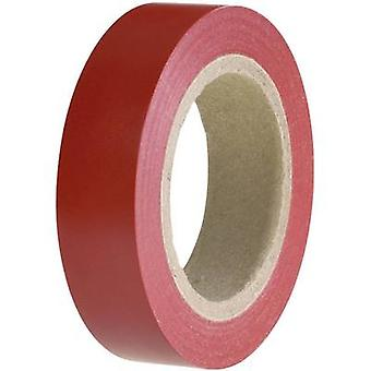 Electrical tape HelaTape Flex 15 Red (L x W) 10 m x 15 mm Heller
