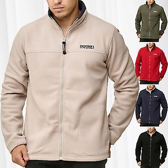 Mens Fleece Jacket Newton Workwear Transitional Jacket Outdoor Trekking